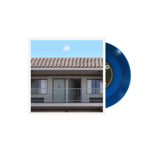 Vacancy Transparent Blue 7""