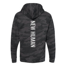 Load image into Gallery viewer, New Human Black Camo Unisex Hoodie