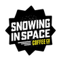 Snowing in Space Coffee Co – Refuel Your Rad Logo