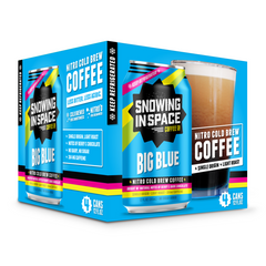 Big Blue – Nitro Cold Brew Coffee Can 4 Pack