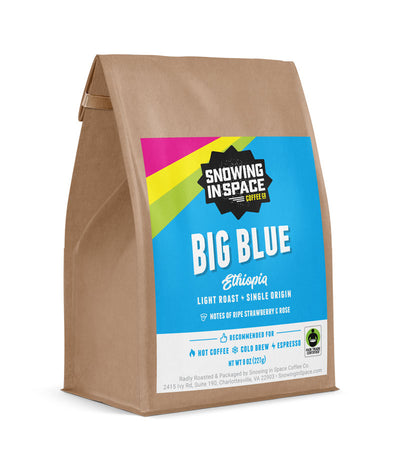 Big Blue - Sample Bag-Single Origin blend-Snowing in Space Coffee