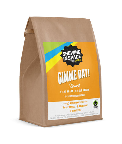 Gimme Dat - Sample Bag-Single Origin blend-Snowing in Space Coffee