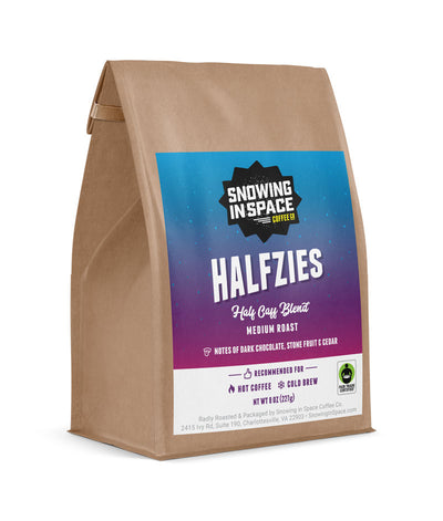 Halfzies - Sample Bag-Single Origin blend-Snowing in Space Coffee