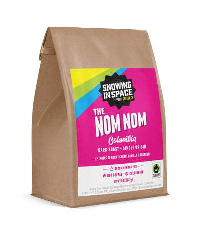 The Nom Nom - Sample Bag-Single Origin blend-Snowing in Space Coffee