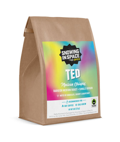 Ted - Sample Bag-Single Origin blend-Snowing in Space Coffee