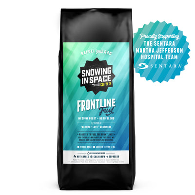 Frontline Fuel-Bagged Coffee-Snowing in Space Coffee