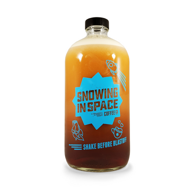 Nitro Cold Brew Coffee – 32oz Growler + Fill-Growler-Snowing in Space Coffee
