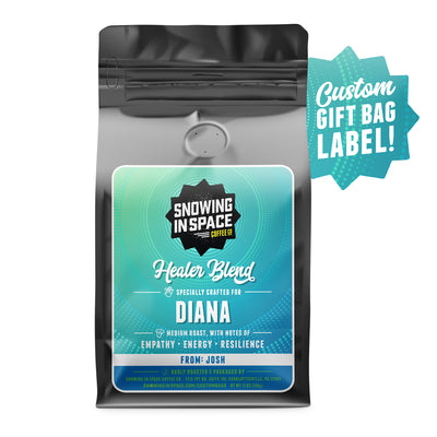 Healer Blend-gifts-Snowing in Space Coffee
