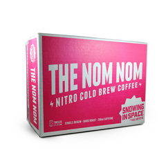 The Nom Nom – Nitro Cold Brew Coffee Can 12 Pack