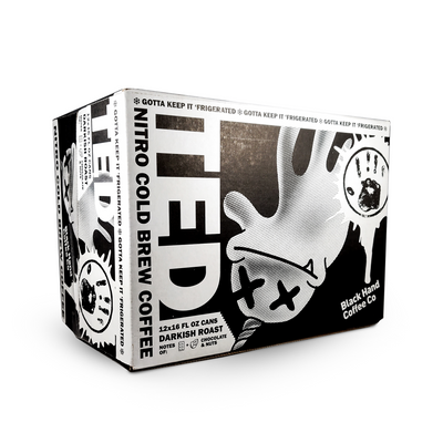 Ted – Nitro Cold Brew Coffee Can 12 Pack-Canned Coffee-Snowing in Space Coffee