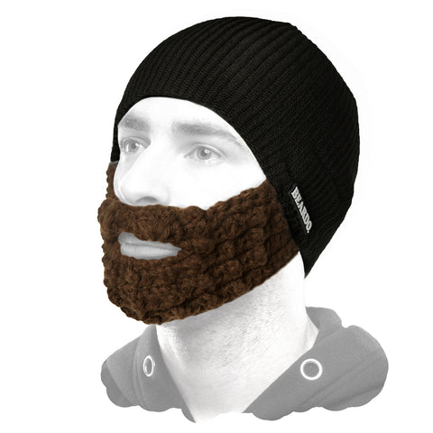 Beardo Black (Attached Brown)