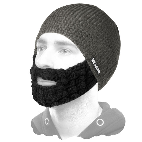 Beardo Dark Grey (Attached Black)