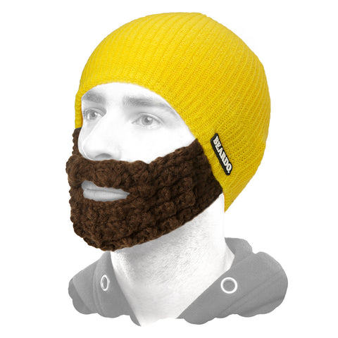 Beardo Yellow (Attached Brown)