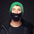Beard hat green