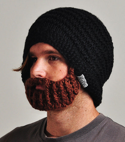 Beardo Beard Hat Black/Brown
