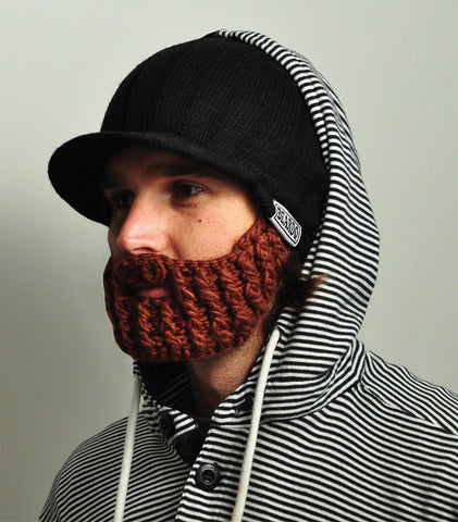 Beardo Beanie Hat - The Rider