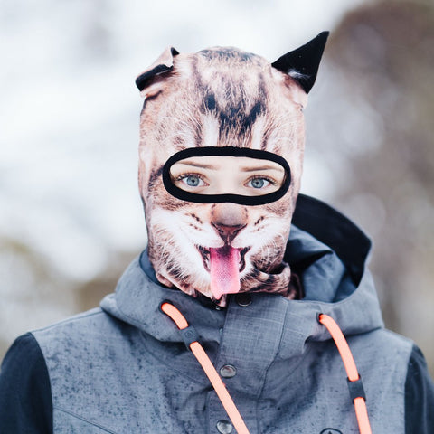 HAPPY CAT SKI MASK