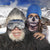 yeti and sugar skull ski mask