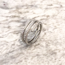 Load image into Gallery viewer, Diamond and Platinum Dress Ring