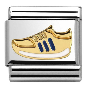 Gold and Enamel Trainer 030242 34
