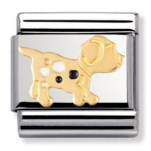 Gold and Enamel dog 030212 36