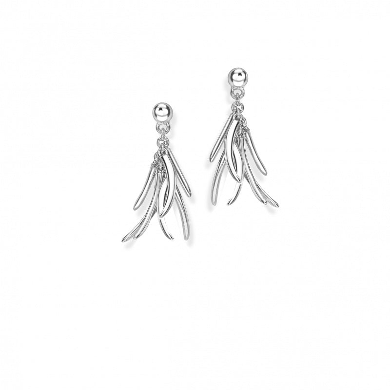 Rachel Galley Molto Mini Tassle Earrings