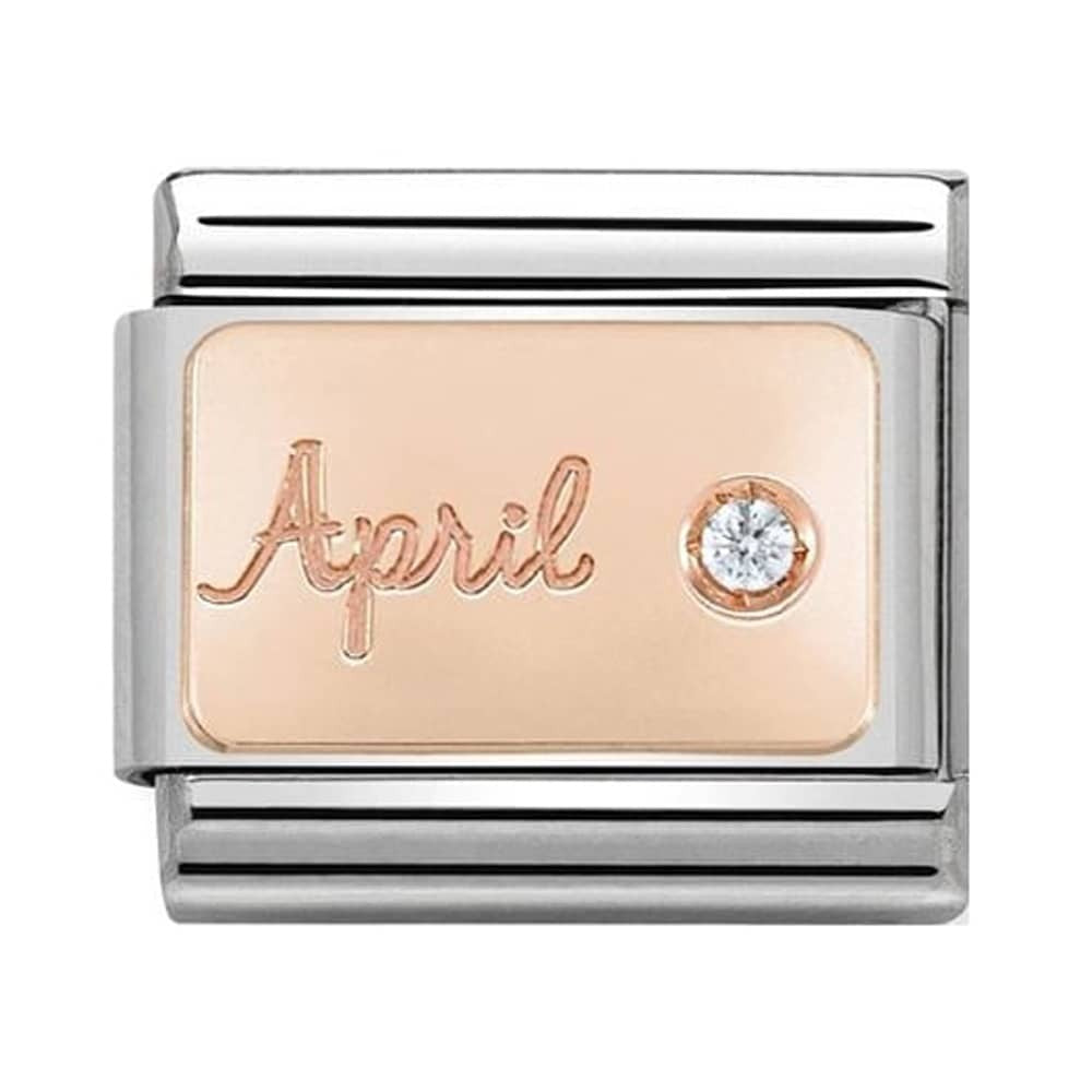 Rose Gold April Diamond 430508 04
