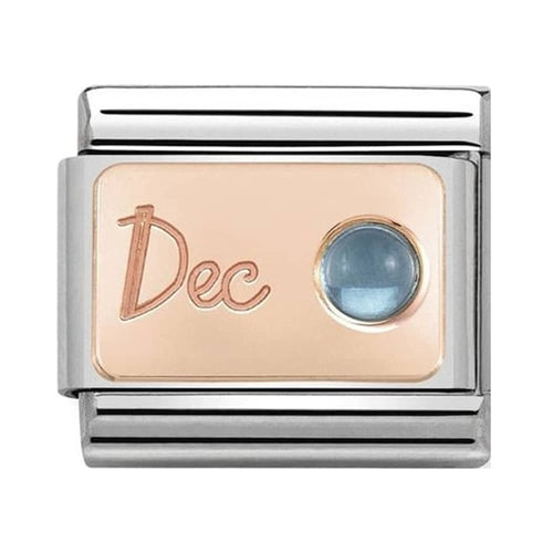 Rose Gold December Topaz 430508 12