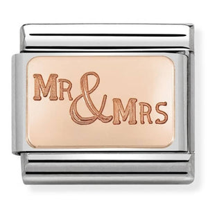 Rose Gold Mr & Mrs 430101 39