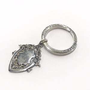 Silver crest Key ring