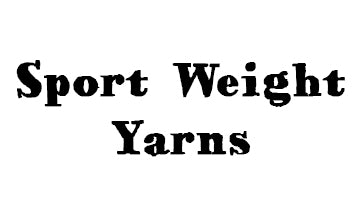 Sport Weight Yarns