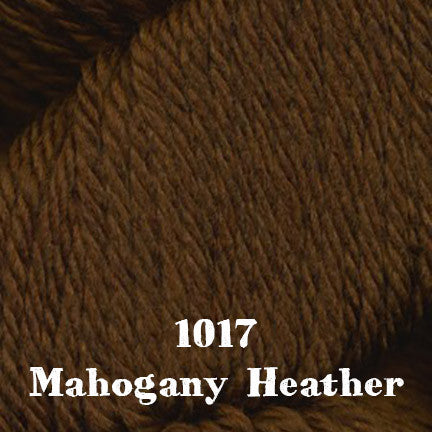 chunky merino SW 1017 mahogany heather