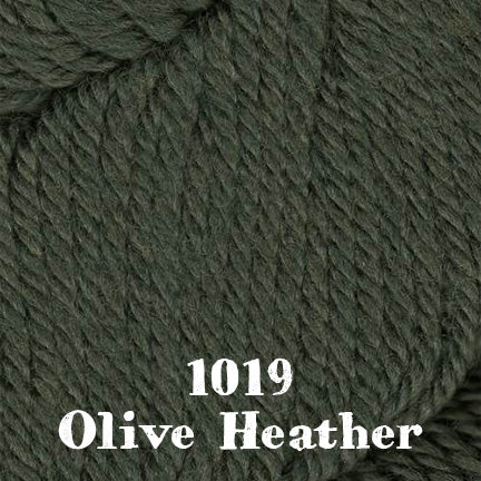 chunky merino SW 1019 olive heather