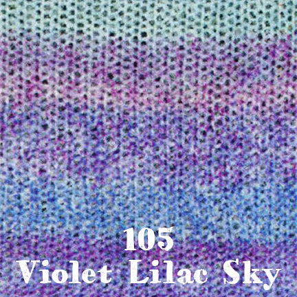 starwool lace color 105 violet lilac sky
