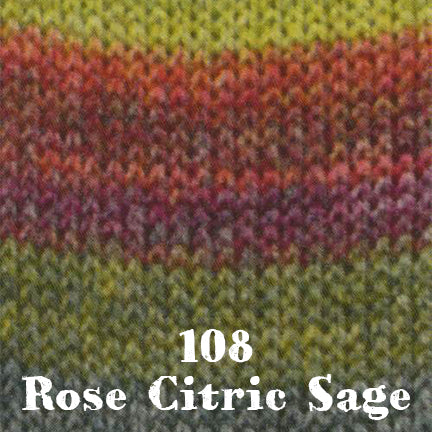 starwool lace color 108 rose citric sage