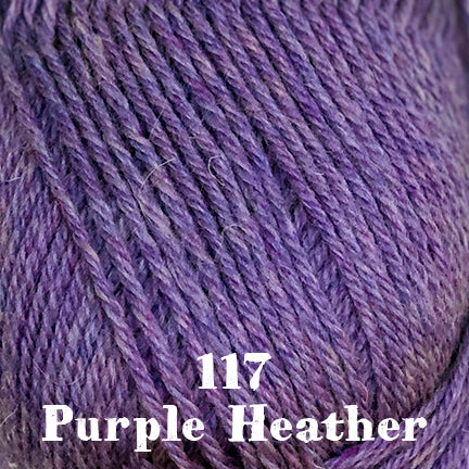 classic wool heathers 117 purple heather