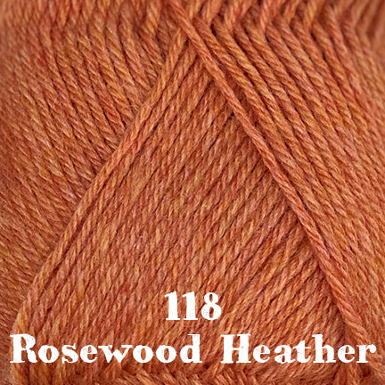 classic wool heathers 118 rosewood heather