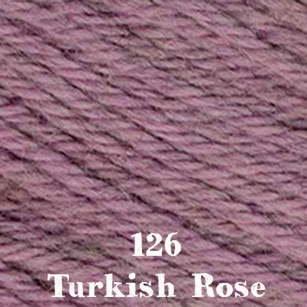 classic wool heathers 126 turkish rose