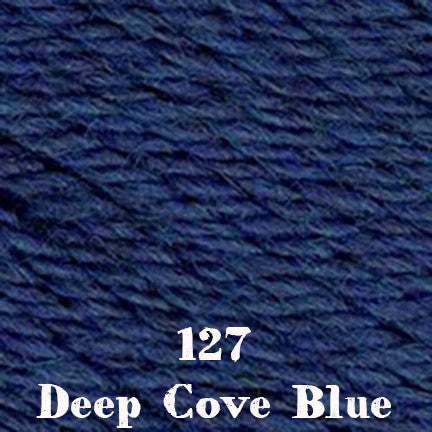 classic wool heathers 127 deep cove blue