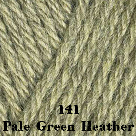 classic wool heathers 141 pale green heather
