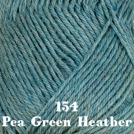 classic wool heathers 154 pea green heather
