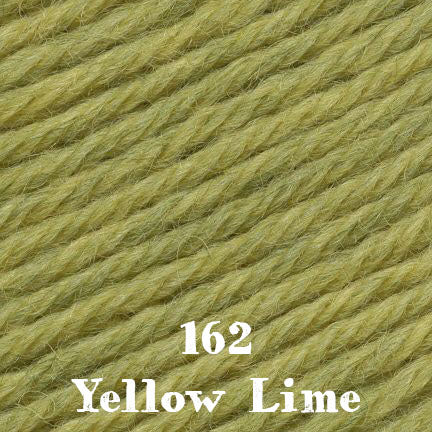 classic wool heathers 162 yellow lime