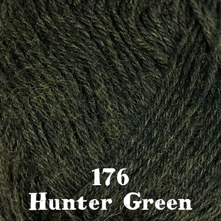 classic wool heathers 176 hunter green