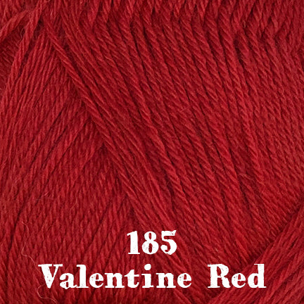 classic wool heathers 185 valentine red
