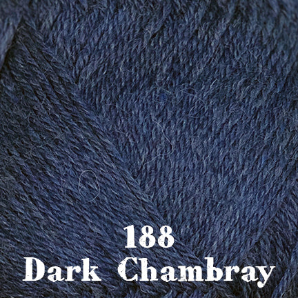 classic wool heathers 188 dark chambray