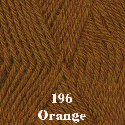 classic wool heathers 196 orange