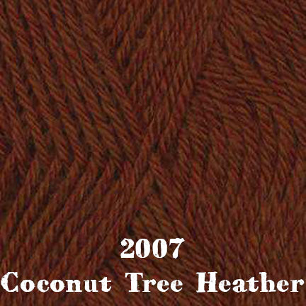 classic wool heathers 2007 coconut tree heather