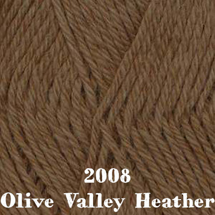 classic wool heathers 2008 olive valley heather