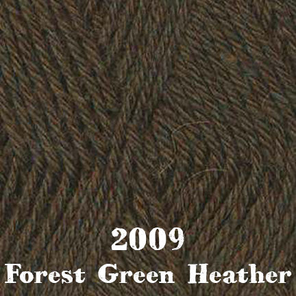 classic wool heathers 2009 forest green heather