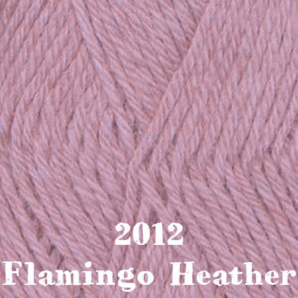 classic wool heathers 2012 flamingo heather